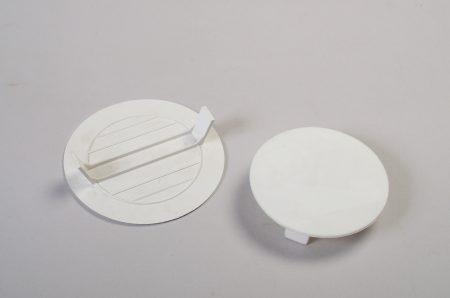 Tapas plásticas octogonales
